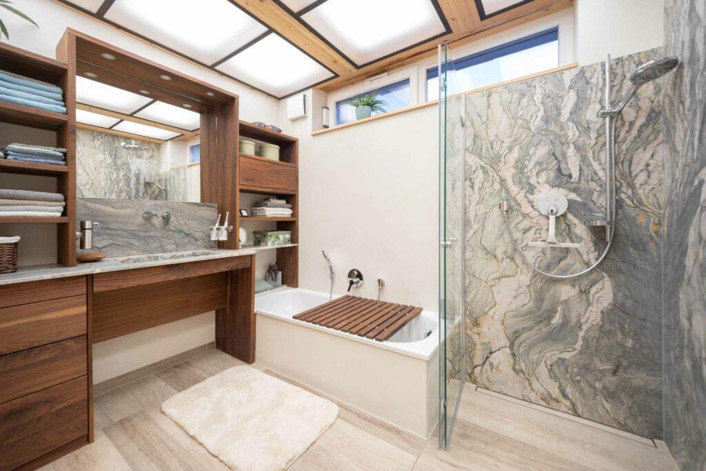 Badezimmer aus Naturstein Fusion WOW
