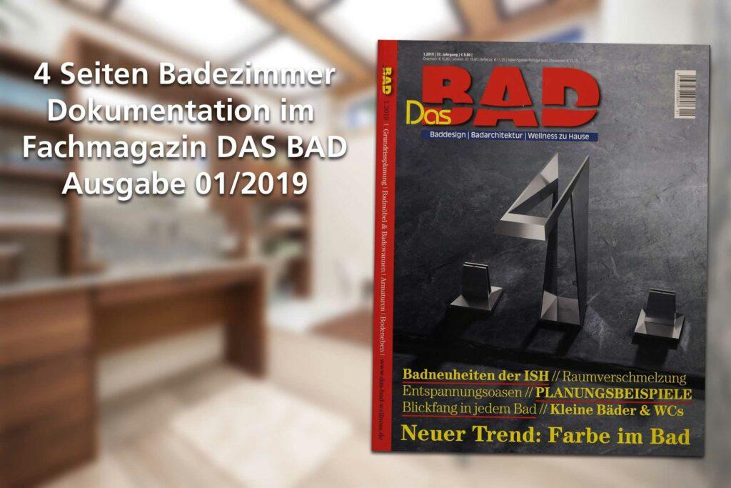 """Jauer im Fachmagazin """"Das Bad"""""""